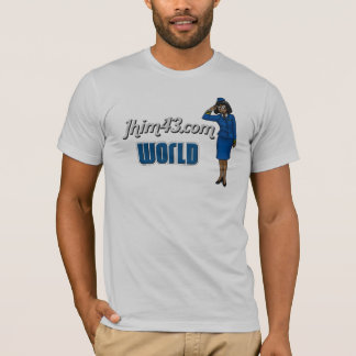 Jhim43.com World T-Shirt