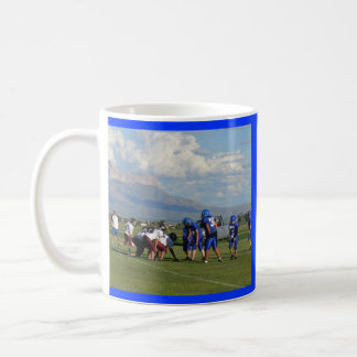JHS FBall game, Dell City Junior High School Classic White Coffee Mug