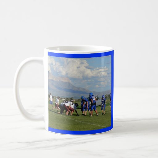 JHS FBall game, Dell City Junior High School Coffee Mug