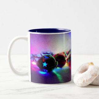 Jiggle Bells Photo Two-Tone Coffee Mug