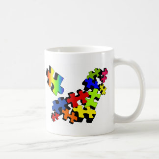 Jigsaw Jumble Coffee Mug