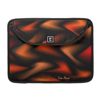 Jigsaw Orange Rickshaw Mac Book Sleeve