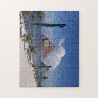 Jigsaw photo puzzle featuring Belize beach scene.