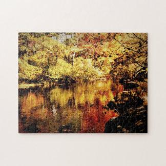 Jigsaw Puzzle - Autumn Stream - Full Color