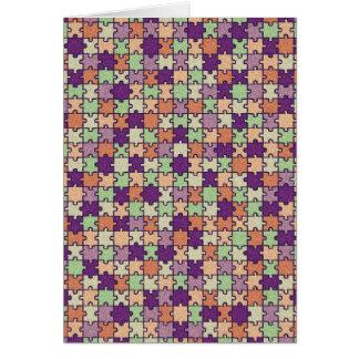 Jigsaw Puzzle Card