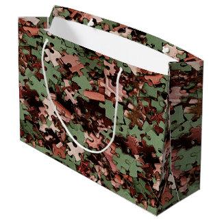 Jigsaw Puzzle Novelty Large Gift Bag