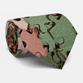 Jigsaw Puzzle Novelty Tie