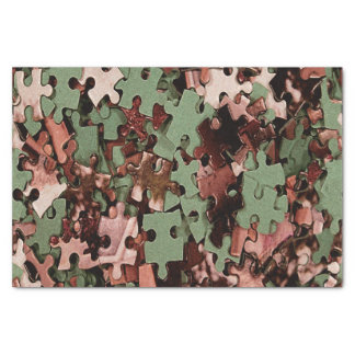 Jigsaw Puzzle Novelty Tissue Paper