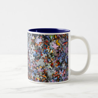Jigsaw Puzzle Pieces Mug