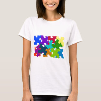 Jigsaw Puzzle Pieces T-Shirt