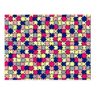 Jigsaw Puzzle Postcard