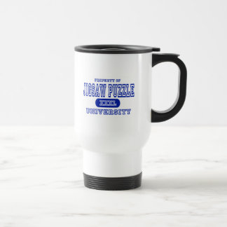 Jigsaw Puzzle University Travel Mug