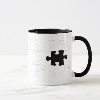 Jigsaw Puzzle with Missing Piece Mug
