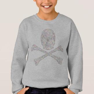 Jigsaw Skull & Crossbones - Color Sweatshirt