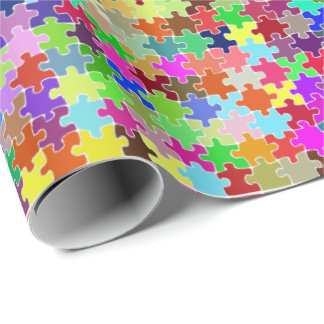 Jigsaw Wrapping Paper