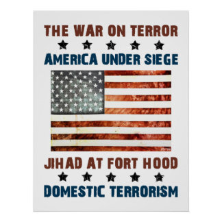 Jihad At Fort Hood Poster