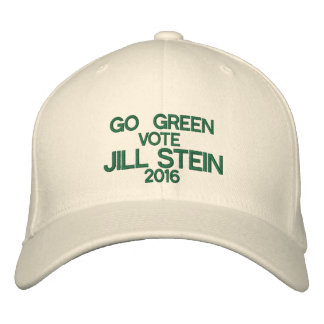 JILL STEIN 2016 HAT EMBROIDERED BASEBALL CAPS