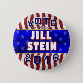 Jill Stein President 2016 Election Green Party 2 Inch Round Button