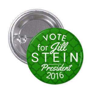 Jill Stein President 2016 Election Green Political 1 Inch Round Button
