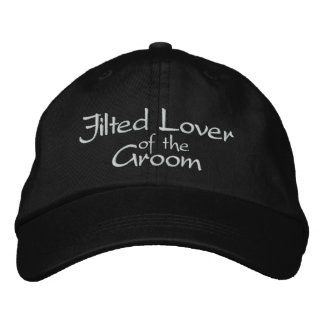 Jilted Lover of the Groom Embroidered Wedding Cap Embroidered Hat