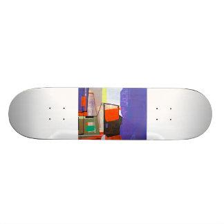 "Jim Harris Untitled  2 Skateboard 7 7/8"""