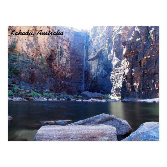 Jim Jim Falls, Kakadu, Australia Postcard