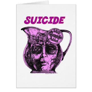 Jim Jones Kool Aid Pitcher SUICIDE in Jonestown Card