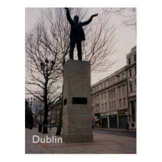 Jim Larkin Monument, O'Connel St., Dublin, Ireland Postcard