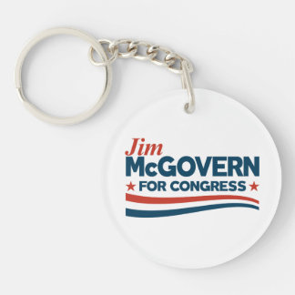 Jim McGovern Keychain