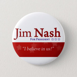 Jim Nash 2016 Patriotic Button