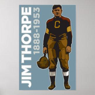 Jim Thorpe, All-American Poster