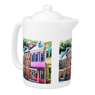 Jim Thorpe Pa - Colorful Street