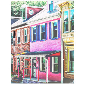 Jim Thorpe Pa - Colorful Street Dry Erase Board