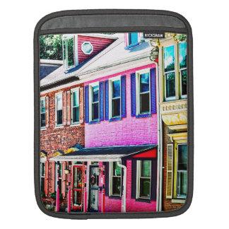 Jim Thorpe Pa - Colorful Street iPad Sleeve