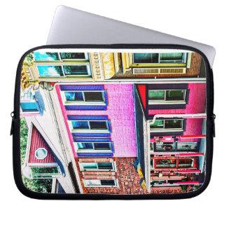 Jim Thorpe Pa - Colorful Street Laptop Sleeve
