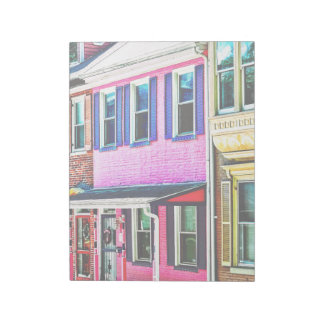 Jim Thorpe Pa - Colorful Street Notepad
