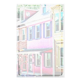 Jim Thorpe Pa - Colorful Street Stationery