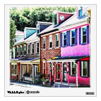 Jim Thorpe Pa - Colorful Street Wall Decal