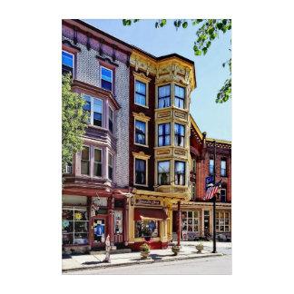Jim Thorpe Pa - Shops Along Broadway Acrylic Print