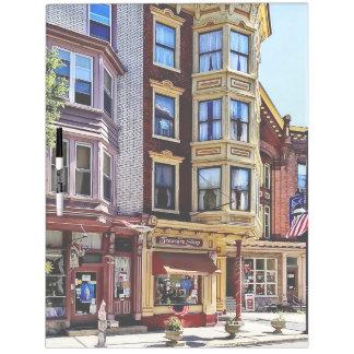 Jim Thorpe Pa - Shops Along Broadway Dry Erase Board