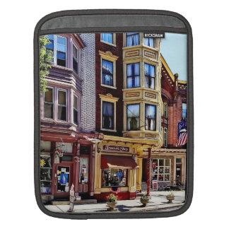 Jim Thorpe Pa - Shops Along Broadway iPad Sleeve