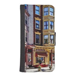 Jim Thorpe Pa - Shops Along Broadway iPhone SE/5/5s Wallet Case