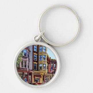 Jim Thorpe Pa - Shops Along Broadway Keychain