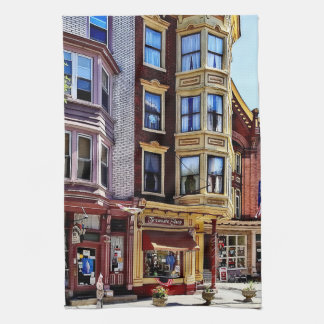 Jim Thorpe Pa - Shops Along Broadway Kitchen Towel