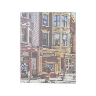 Jim Thorpe Pa - Shops Along Broadway Notepad