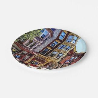 Jim Thorpe Pa - Shops Along Broadway Paper Plate