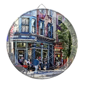 Jim Thorpe Pa - Window Shopping Dartboard