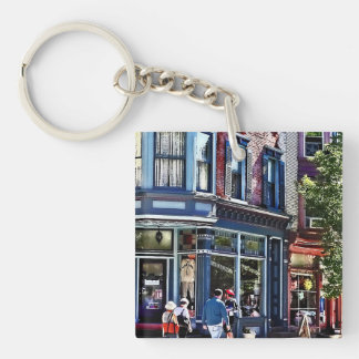 Jim Thorpe Pa - Window Shopping Keychain