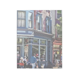 Jim Thorpe Pa - Window Shopping Notepad