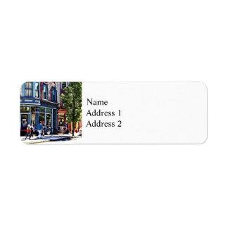 Jim Thorpe Pa - Window Shopping Return Address Label